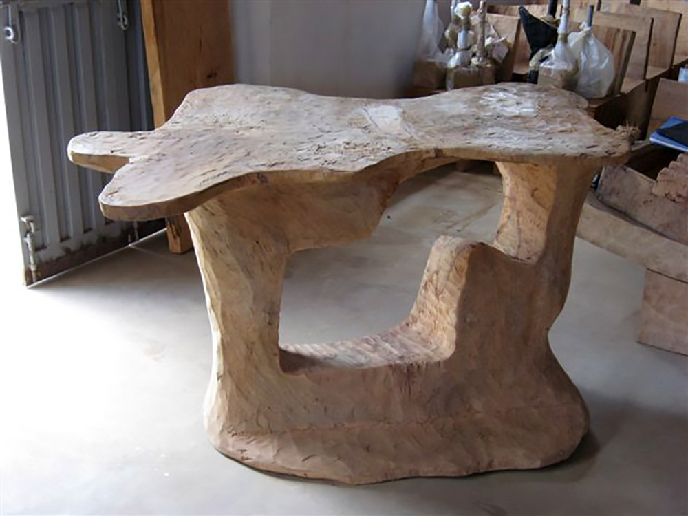 BRANCH console ,hand made with mango wood from Kenya 140x100x87h